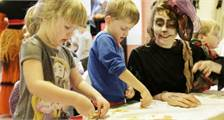 Kiddies-Programm in Center Parcs Le Bois aux Daims