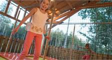 Trampolin in Center Parcs Le Bois aux Daims