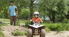 Mini-Quad-Fahren in Center Parcs Bispinger Heide