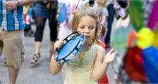 Orry & Freunde: Kids Parade in Center Parcs Le Lac d'Ailette