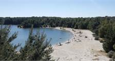 Strand in Center Parcs De Vossemeren