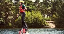 Flyboarding in Center Parcs De Vossemeren